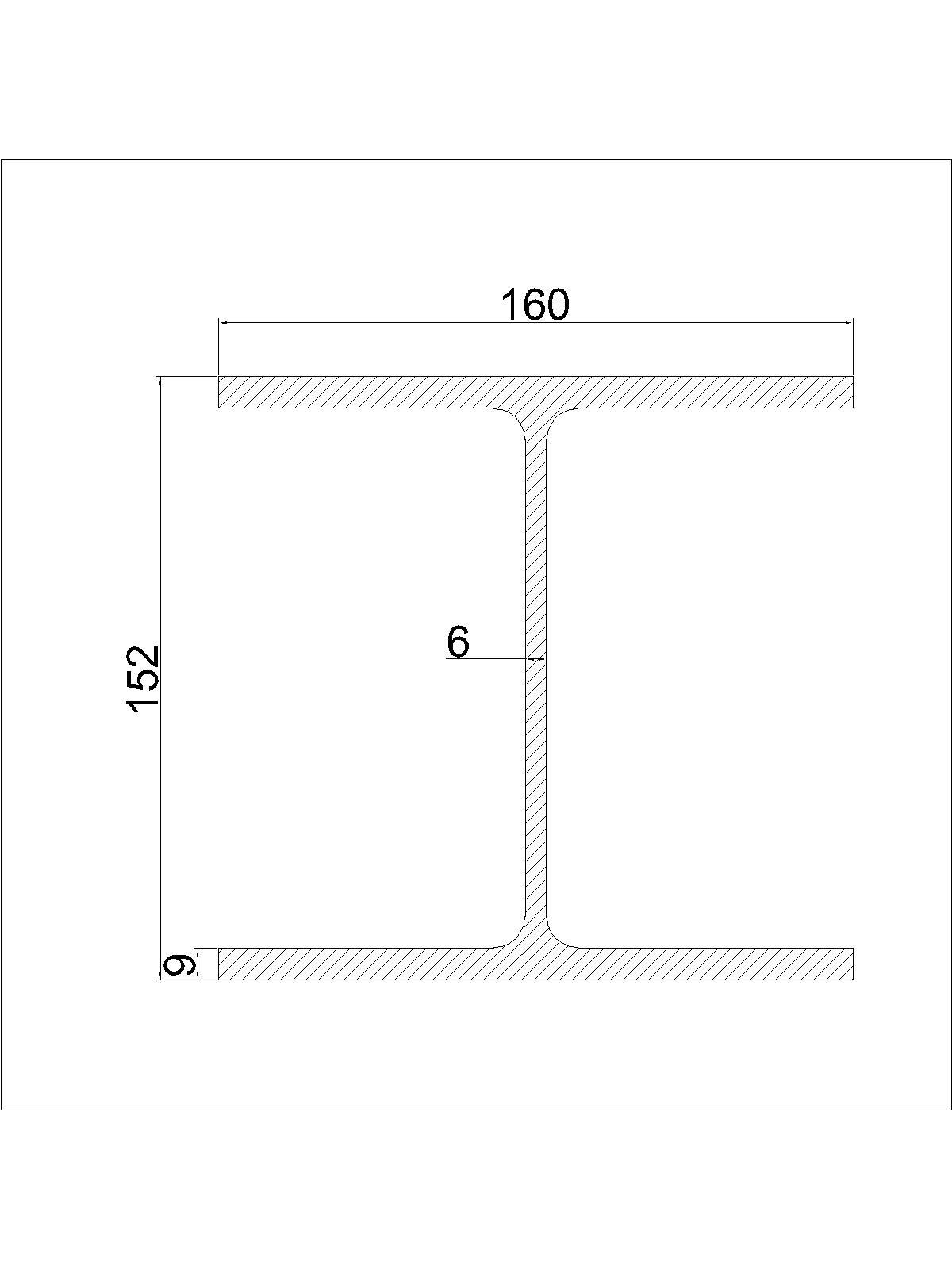 HEA 160 - Staalprofiel...